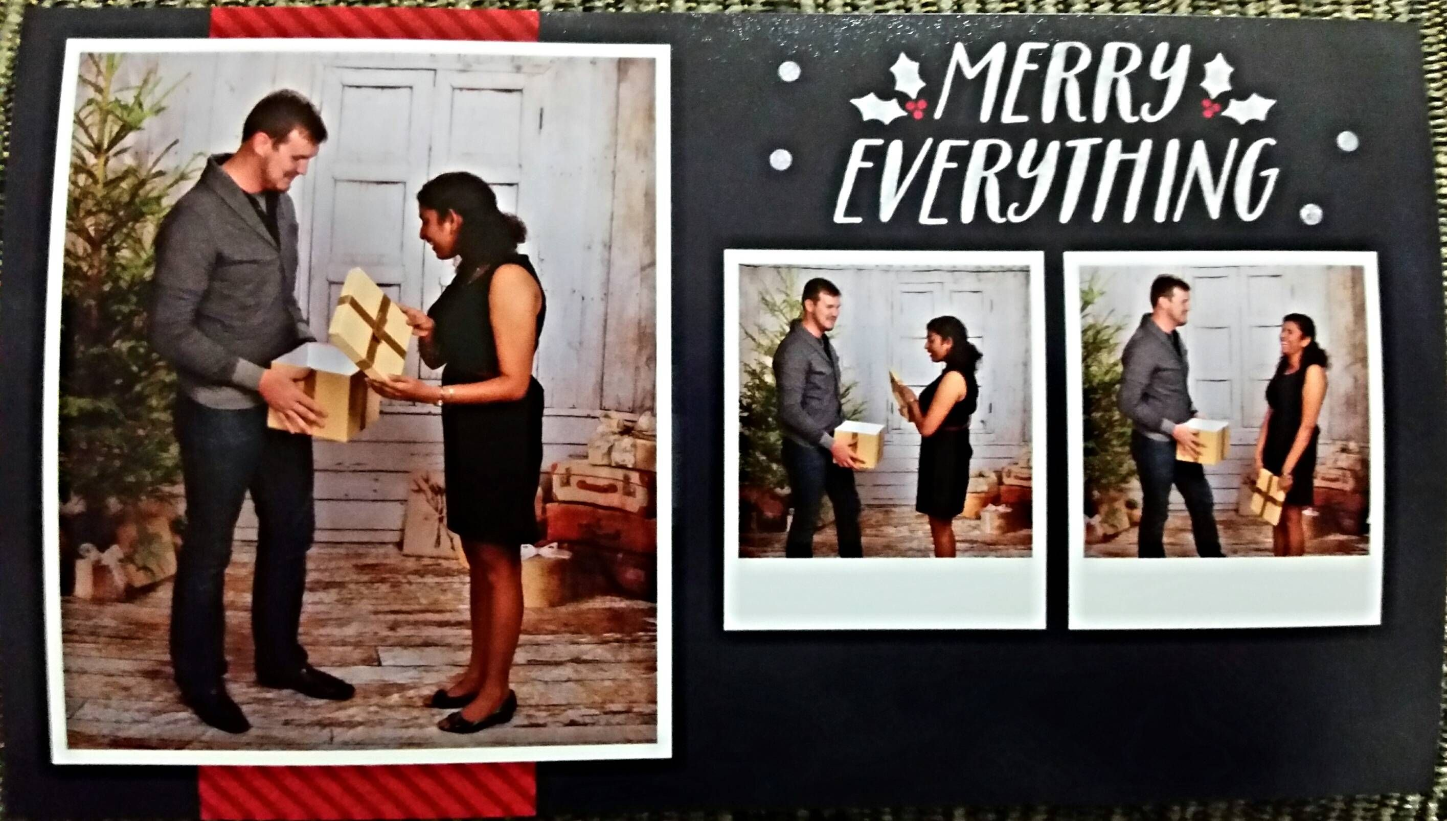 This is why you should never let your boyfriend pick the Christmas – Christmas Card Layout